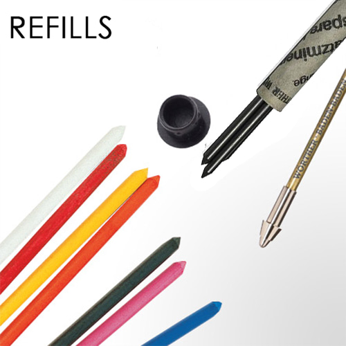 Shorty Mechanical Pencil 3.15mm Refill_(3 Types)