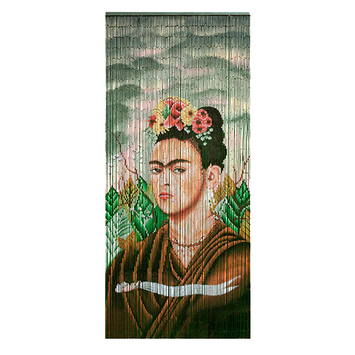 Door Curtain Bamboo_Frida Kalho