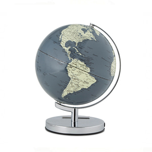 "Concerete Grey 10"" Globe Light"