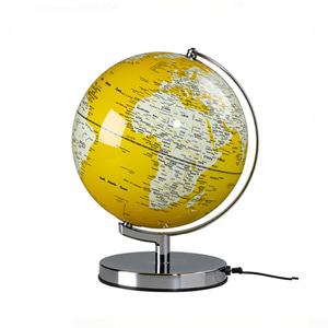 "English Mustard 10"" Globe Light"