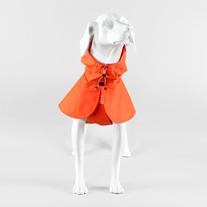 Mystic Rain Coat Orange_4sizes