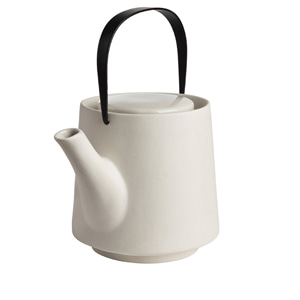 Stoneware Tea Pot_Oatmeal
