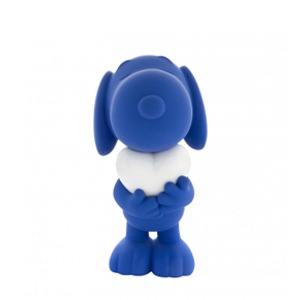 Snoopy Heart_Soft Touch Blue